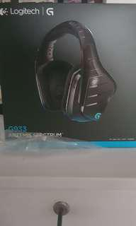 G933 Logitech Gaming Headset