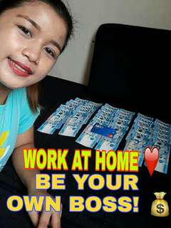 🎉Work From Home Be Your Own Boss!