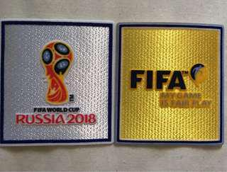 World Cup Patches (Pair)