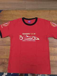 Formula 1 night race shirt