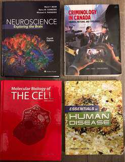 VARIOUS TEXTBOOKS