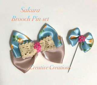 <Instock> Hijab Pin & Brooch Set