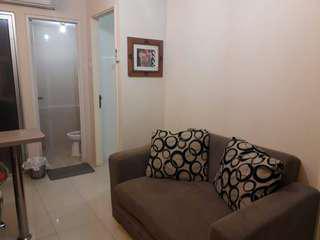 Apartemen disewakan pertahun atau perbulan di GREEN PALACE tower TULIP, KALIBATA CITY
