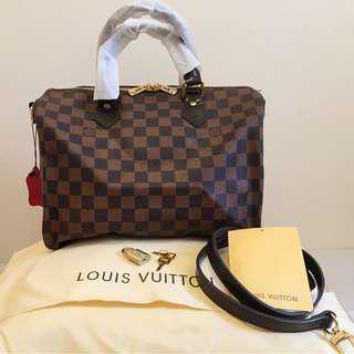 Louis Vuitton Speedy 30 Damier