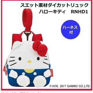 超可愛日本卡通Baby用背包 hello kitty pooh 布甸狗 mickey mouse