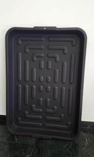 Water/ Mud Resistant Plastic Tray