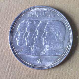 1948 Belgium 100 Francs