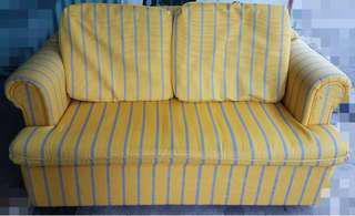 Sofa Couch with Convertible Pullout Bed (from Australia)