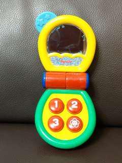 寶寶手機(按鍵有聲音)
