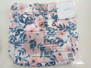 BNIP Jujube Rose Gold Collection Whimsical Watercolour (WW) II Be Light (Pink Lining)