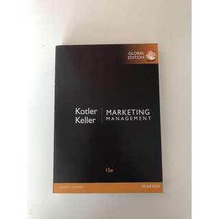 Marketing Management Philip Kotler 15th Edition