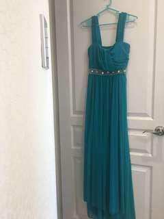 Emerald Long dress