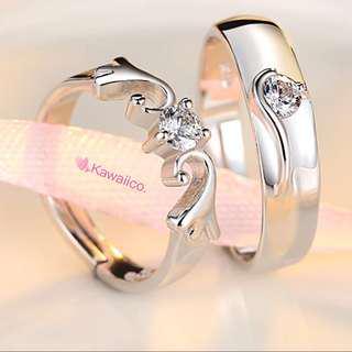 🚚 💍 Intricate Handmade Couple Ring