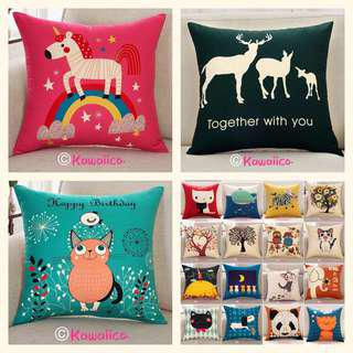 🚚 🌿 30+ designs cushion cover instock