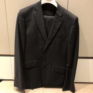 Brent Wilson Men's Three Piece Suit, Black
