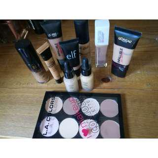 New Foundations, conealer and contour