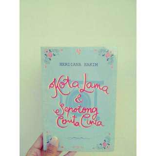 Novel Kota Lama & Sepotong Cerita Cinta (stok 1)