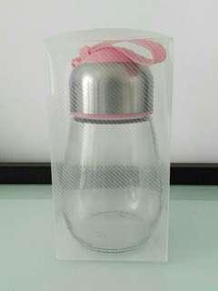 [New] Glass bottle with strainer 美顏花茶玻璃水樽 Glass Bottle