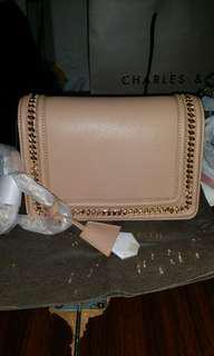 Charles &keith sling bag