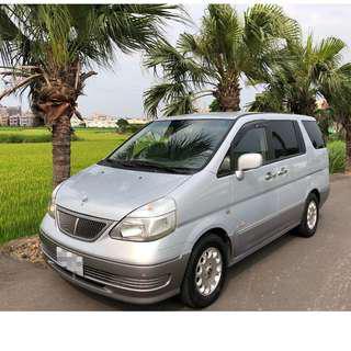 2005年~ Nissan日產~ SERENA 頂級 QR-V~ 2.0L ~ 銀