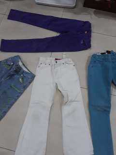 Girls jeans pants bundle
