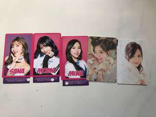 TWICE Japan Photocards