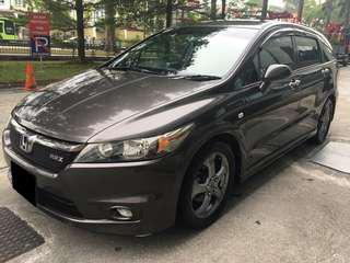 MPVs 7 SEATER PROMOTION WEEKDAYS PER DAY $70 HONDA STREAM P PLATE WELCOME(LOW DEPOSIT)