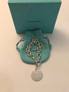 Authentic Tiffany & Co silver bracelet