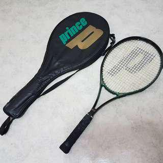 Prince Wilson precision luxor with vibro damp 107 head size badminton tennis racket with bag