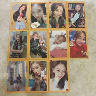 [INS] Twice WIL Jihyo 11pcs photocard set