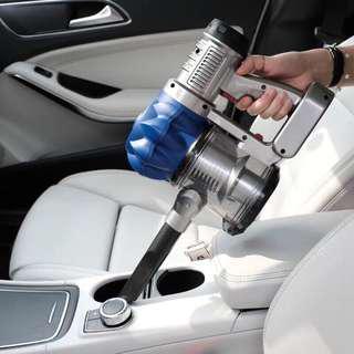🚚 無線充電式車家兩用大功率強力吸塵器