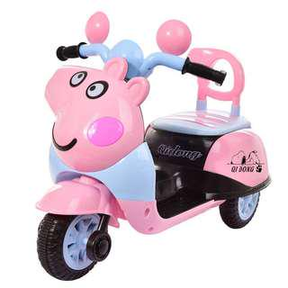 🚚 Peppa pig Ride On Kids Bike Battery Operated