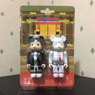 Bearbrick 100% Japanese Wedding 日式 婚禮 結婚 宴會 Bear Be@rbrick Toy Figure Art Brand Design Rabbrick R@bbrick Nyabrick Ny@brick 模型 擺設 收藏品 名牌 玩具 禮物 生日禮物
