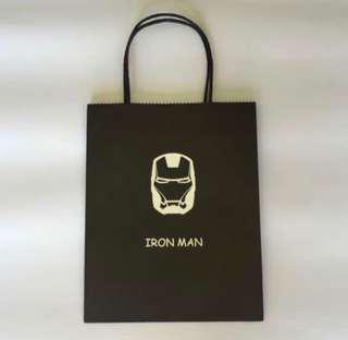 Iron man paper bag/ goodie bag