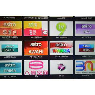 Free Astro Channels ( One Time Payement)