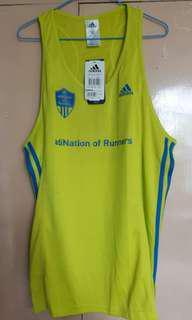 Adidas singlet Running jersey adiNation of runners