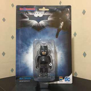 Bearbrick 100% Batman 蝙蝠俠 DC 美漫 漫畫 Bear Be@rbrick Toy Figure Art Brand Design Rabbrick R@bbrick Nyabrick Ny@brick 模型 擺設 收藏品 名牌 玩具 禮物 生日禮物