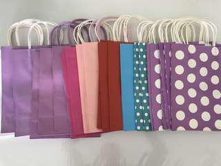 Loose pcs paper bag/ goodie bag
