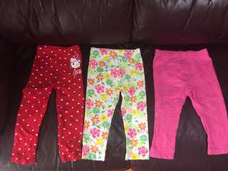girls' leggings for 12-18M