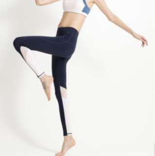 🚚 pure yoga Legging  瑜伽褲 運動褲 慢跑 健身 彈性優