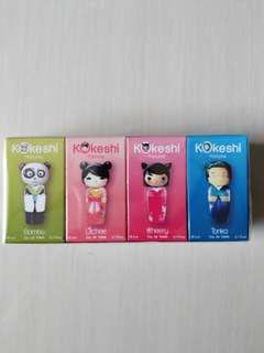 Kokeshi Parfums The Mini Collection Travel Retail Exclusive Perfume