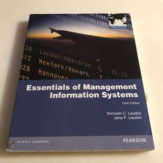 🚚 Essentials of Management Information Systems管理資訊系統🗃華泰 出版
