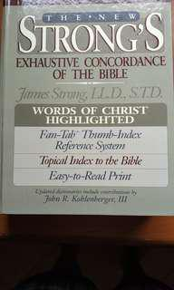 New Strong's Bible