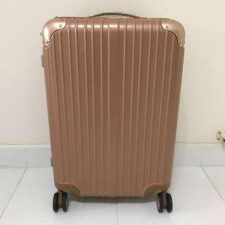 """Sulwhasoo Limited edition 25"""" Rose Gold Luggage for sales"""