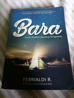 Novel Bara (kisah pendakian gunung ciremai)