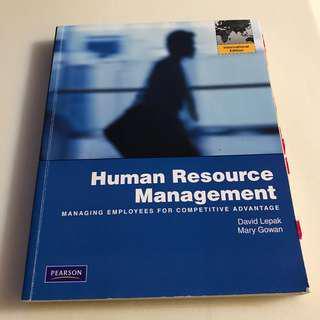 🚚 大學用書👩🏻🎓Human Resource Management人力資源管理💪🏻PEARSON 出版