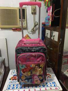 Repriced!!! Original Disney Princess Trolley Bag with FREE DISNEY PRINCESS rain coat