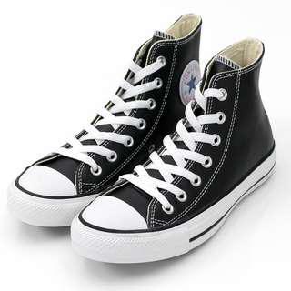 🚚 Converse Chuck Taylor All Star Leather 皮革高筒鞋