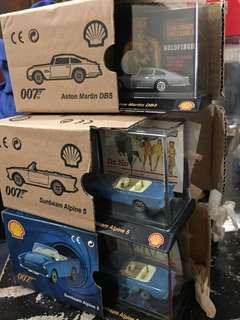 007 Cars 5 collections *NEW*