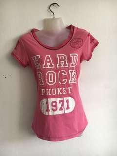 hard rock shirt